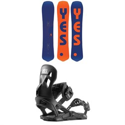 Yes. The Y. Snowboard ​+ Now x Yes Snowboard Bindings 2020