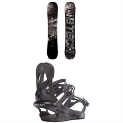 Lib Tech Box Knife C3 Snowboard + Rome Arsenal Snowboard Bindings