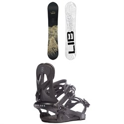 Lib Tech Skate Banana BTX Snowboard ​+ Rome Arsenal Snowboard Bindings