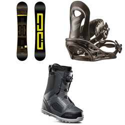 DC Focus Snowboard ​+ Flux PR Snowboard Bindings ​+ thirtytwo STW Boa Snowboard Boots