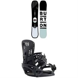 Burton Custom Snowboard + Burton Genesis EST Snowboard Bindings 2020