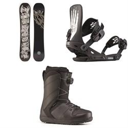 Ride Wildlife Snowboard + Ride Revolt Snowboard Bindings + Ride Anthem Snowboard Boots 2020