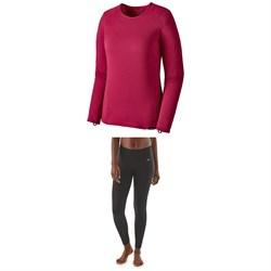 Patagonia Capilene® Thermal Weight Crew + Patagonia Capilene® Thermal Weight Pants - Women's
