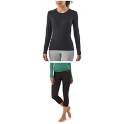 Patagonia Capilene® Thermal Weight Crew Top - Women's ​+ Patagonia Capilene® Thermal Weight Boot-Length Bottoms - Women's