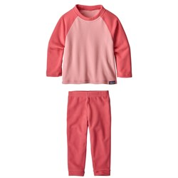 Patagonia Micro D® Fleece Crew ​+ Patagonia Micro D® Bottoms - Toddlers'