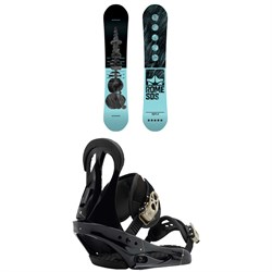 Rome Royal Snowboard - Women's ​+ Burton Citizen Snowboard Bindings - Women's
