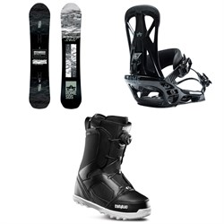 Rome Warden Snowboard ​+ Rome United Snowboard Bindings ​+ thirtytwo STW Boa Snowboard Boots 2020