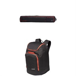 Dakine Fall Line Ski Roller Bag + Dakine Boot-Pack 50L