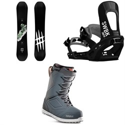 Lobster Park Snowboard + Switchback Smith Snowboard Bindings + thirtytwo Zephyr Snowboard Boots