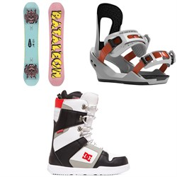 Bataleon Blow Snowboard ​+ Switchback Destroyer Snowboard Bindings ​+ DC Phase Snowboard Boots 2020