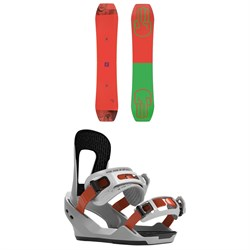 Bataleon Wallie Snowboard ​+ Switchback Destroyer Snowboard Bindings 2020