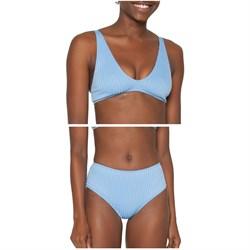 Seea Brasilia Bikini Top + Brasilia High-Waist Bikini Bottoms - Women's