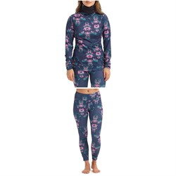 Burton Midweight Long-Neck Top ​+ Midweight Pants - Women's