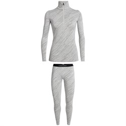 Icebreaker 250 Vertex Long Sleeve Half Zip Top ​+ 250 Vertex Leggings - Women's