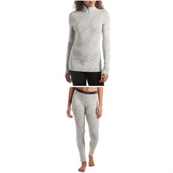 Icebreaker 250 Vertex Long Sleeve Half Zip Top + Leggings - Women's