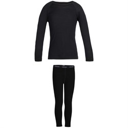 Icebreaker 200 Oasis Long Sleeve Crew ​+ 200 Oasis Leggings - Kids'