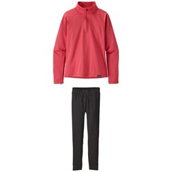 Patagonia Capilene®  Heavyweight Zip-Neck Top ​+ Capilene Pants - Big Girls'