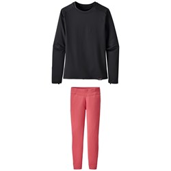 Patagonia Capilene® Crew Top - Kids' ​+ Patagonia Capilene Pants - Big Girls'