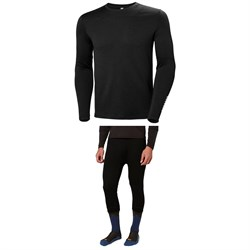 Helly Hansen Lifa Merino Crew Top ​+ Lifa Merino 3​/4 Boot Top Pants