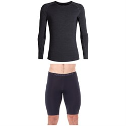 Icebreaker 200 Zone Long Sleeve Crew Top ​+ 200 Zone Shorts