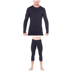 Icebreaker 200 Oasis Long Sleeve Crew Top ​+ 200 Oasis Legless Bottoms