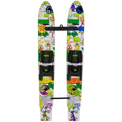 Radar Firebolt Water Skis with Adjustable Horseshoe Bindings - Kids'