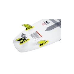 Hyperlite 4.5'' Carbon Surf Tri Fin Set with Key