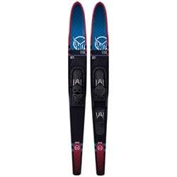 HO Freeride Combos Water Skis + Adjustable Horseshoe Bindings