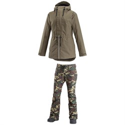 Airblaster Stay Wild Parka ​+ Fancy Pants - Women's