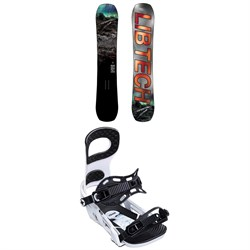 Lib Tech Box Knife C3 Snowboard ​+ Bent Metal Joint Snowboard Bindings