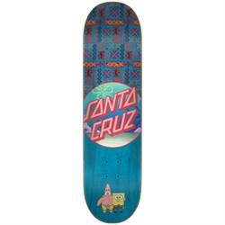 Santa Cruz SpongeBob Best Buds 7.75 Skateboard Deck
