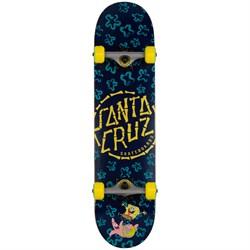 Santa Cruz SpongeBob Floral Coral 7.75 Skateboard Complete