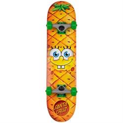 Santa Cruz SpongeBob Pineapple Face 7.25 Skateboard Complete