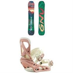 GNU B-Pro C3 Snowboard - Women's + Burton Lexa Snowboard Bindings - Women's