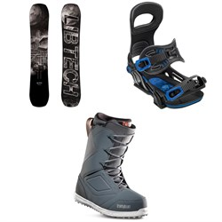 Lib Tech Box Knife C3 Snowboard ​+ Bent Metal Transfer Snowboard Bindings ​+ thirtytwo Zephyr Snowboard Boots