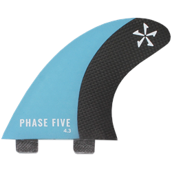 Phase Five Carbon Surf Twin Fin Set