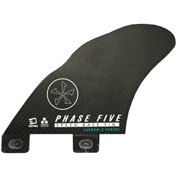 Phase Five 3D Speed Base Carbon Twin Fin Set