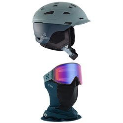 Anon Prime MIPS Helmet ​+ Anon M4 Cylindrical MFI Goggles