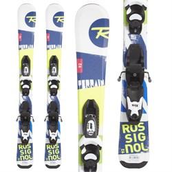 Rossignol Terrain Skis + Look Kid-X 4 Bindings - Little Boys'