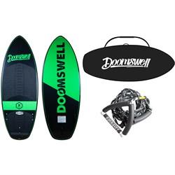 Doomswell Hydro Wakesurf Board + Hydro Bag + Surf Rope 2020