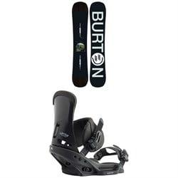 Burton Instigator Snowboard + Custom EST Snowboard Bindings 2020