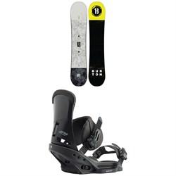 Burton Descendant Snowboard + Custom EST Snowboard Bindings 2020