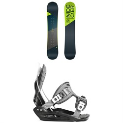 Nidecker Prosper Snowboard ​+ Flow Micron Youth Snowboard Bindings - Kids'