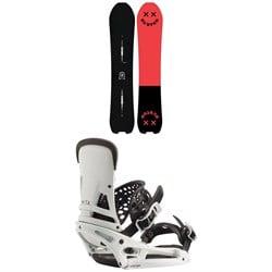 Burton Skeleton Key Snowboard + Burton Malavita EST Snowboard Bindings 2020