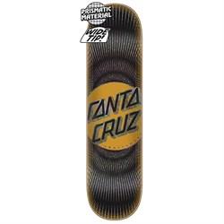 Santa Cruz Vertigo Ray Dot Wide Tip 8.5 Skateboard Deck