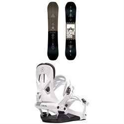 Rome Mechanic SE Snowboard ​+ Rome Arsenal Snowboard Bindings