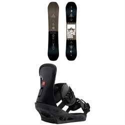 Rome Mechanic SE Snowboard ​+ Burton Freestyle Snowboard Bindings