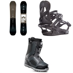 Rome Mechanic SE Snowboard ​+ Rome Arsenal Snowboard Bindings ​+ thirtytwo STW Boa Snowboard Boots
