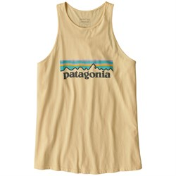 Patagonia Pastel P-6 Logo Organic High-Neck Tank Top - Women's