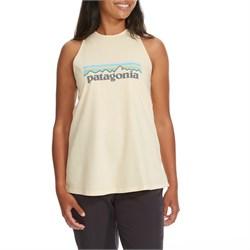 Patagonia Pastel P-6 Logo Organic High-Neck Tank Top - Women's